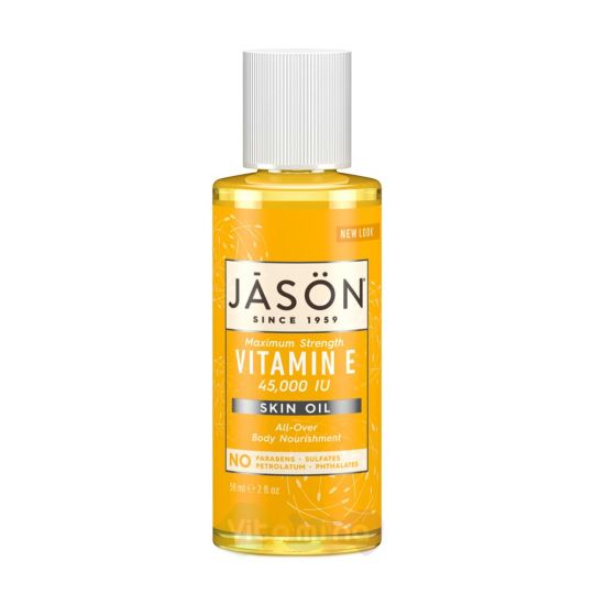 Jason Масло витамин Е 45000Е Maximum Strength Vitamin E Oil 45,000 IU, 59 мл