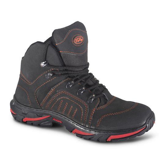 Ботинки «Страйкер» зима Красно-Черные