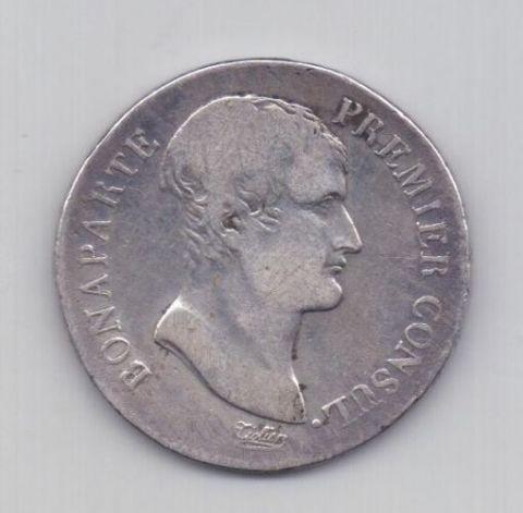 5 франков AN 12 1803-1804 года Франция