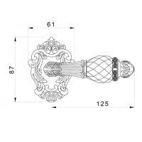 Ручка Mestre 0R7441. схема