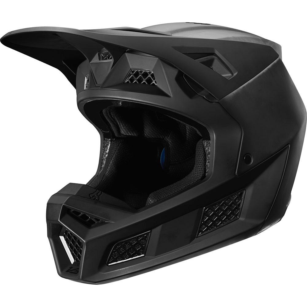 Fox - 2020 V3 Solids Matte Black шлем, черный матовый