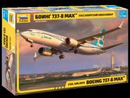 "Пассажирский авиалайнер ""Боинг-737-8 МАХ"""