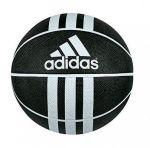 Баскетбольный мяч adidas 3-Stripes Rubber X чёрный