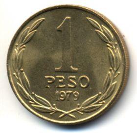 Чили 1 песо 1979