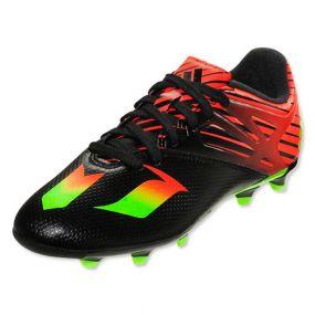 Детские бутсы adidas Messi 15.3 FG/AG Junior чёрные