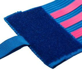 Капитанская повязка adidas сине-розовая