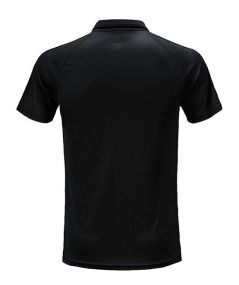 Футболка-поло adidas Tiro 17 Polo чёрная