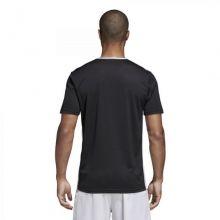 Детская игровая футболка adidas Entrada 18 чёрная