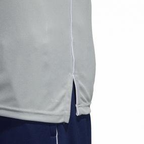 Футболка-поло adidas Core 18 серая