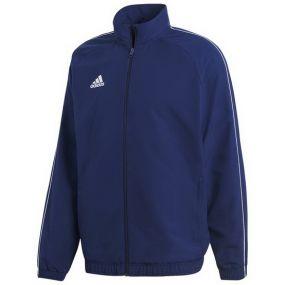Детская парадная куртка adidas Core 18 тёмно-синяя