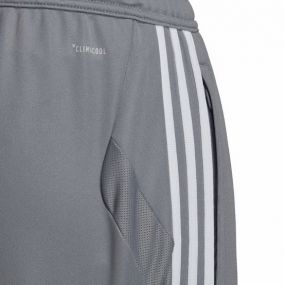 Детские футбольные штаны adidas Tiro 19 серые