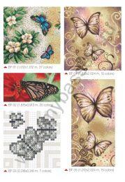 Мозаичные панно Butterflies