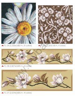 Мозаичные панно Flowers
