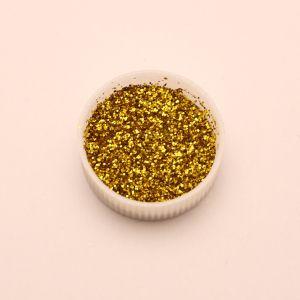 "Глиттер(блестки) 0,4мм(1/64""), пакет, цвет: золото (1уп = 100г)"