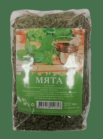 Мята сушеная(чай) 100г.