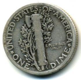 США 10 центов 1928
