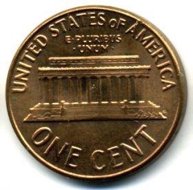 США 1 цент 1963