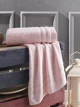 Полотенце махровое DERIN 70*140 (розовое) Арт.3279-4