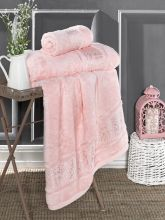 Полотенце бамбуковое ARMOND 90*150(розовое) Арт.3309-9