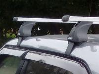 Багажник на крышу Hyundai Creta, Атлант, прямоугольные дуги