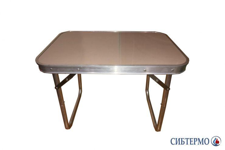 Стол Сибтермо алюминиевый малый разборный в чехле №1 36х54x42см