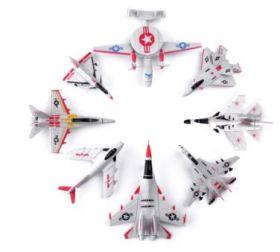 Набор сборных моделей самолетов 8 штук