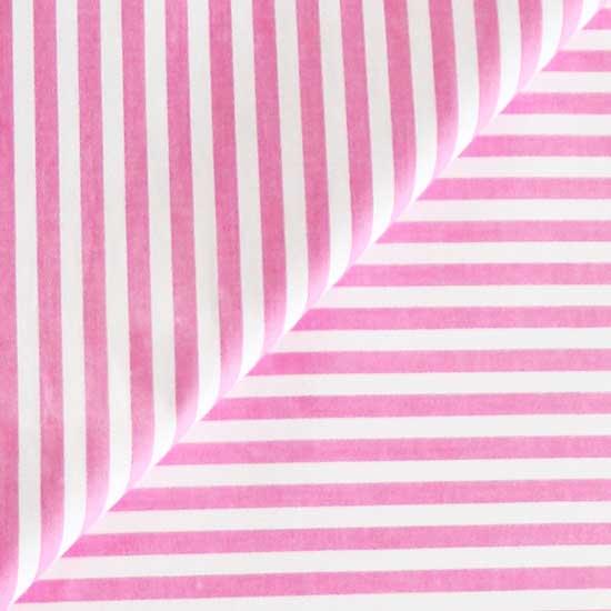 Ткань Хлопок Розовая полоска 50x40