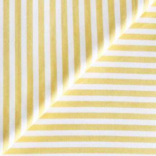 Ткань Хлопок Желтая полоска 50x40