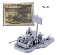 Сборная модель пушки Pak-40 Германия 1:72