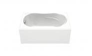 Акриловая ванна BAS Кэмерон стандарт на ножках 120х70 без гидромассажа