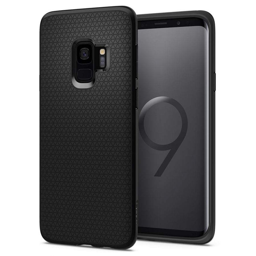 Чехол Spigen Liquid Air Armor для Samsung S9 черный