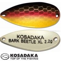 Блесна Kosadaka Trout Police Bark Beetle XL 2,2гр /  27мм / цвет: H79
