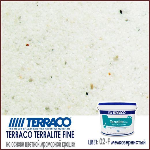 Terralite fine (мелкозернистый) цвет 02-F