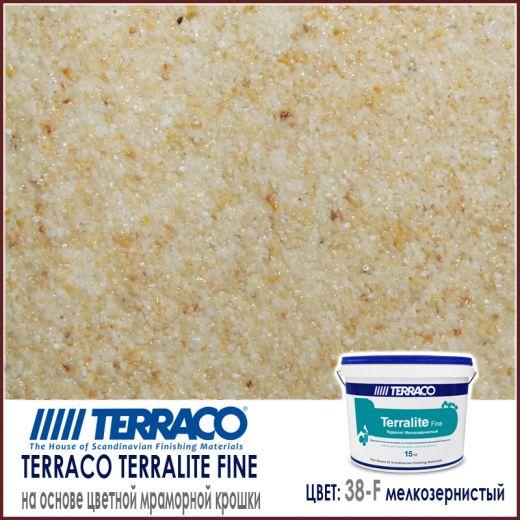 Terralite fine (мелкозернистый) цвет 38-F