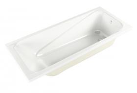 Акриловая ванна Метакам Light на каркасе 160x70