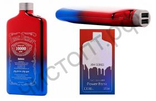 Моб. заряд. устрой. Remax RPP-90, JENI, 10000mAh, пластик, 2 USB выхода, 2.1A, цвет: синий Power Bank оригинал