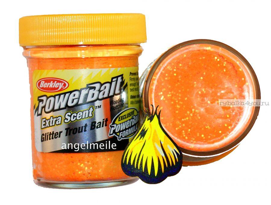 Паста форелевая Berkley Fluorescent Orange ( Чеснок, оранжевый )
