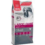 Blitz Adult сухой корм для взрослых собак крупных и гигантских пород 15 кг