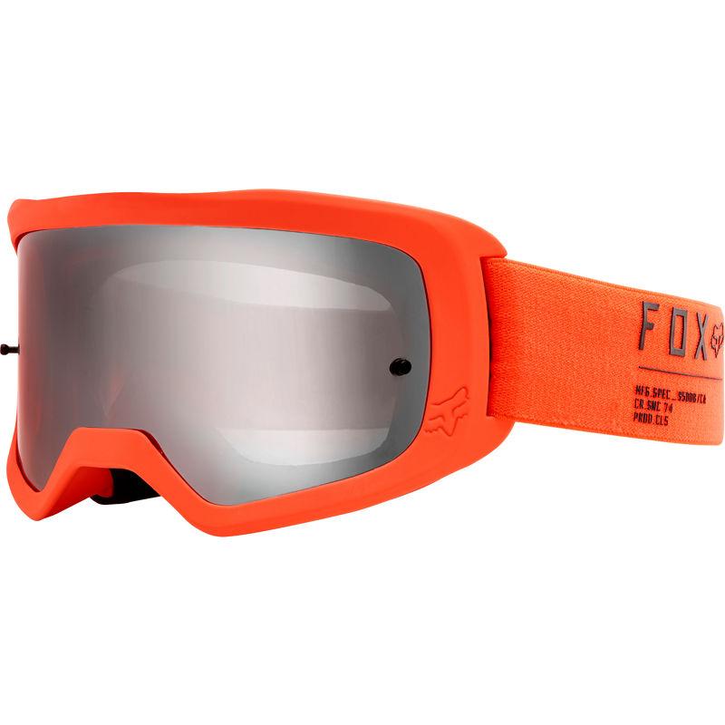 Fox - 2020 Main II Gain Fluorescent Orange очки оранжевые, зеркальная линза