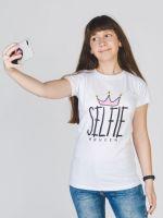 Королева селфи футболка женская