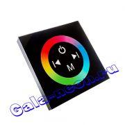 Сенсорныйпанельдля управления светодиоднойлентой (черный) 12А