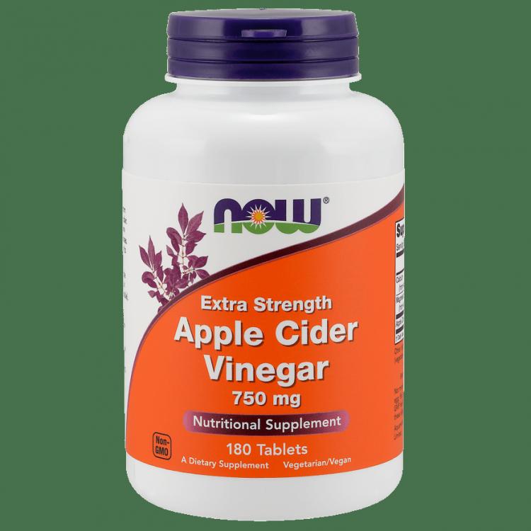 Apple Cider Vinegar от NOW 180 капсул (яблочный уксус)