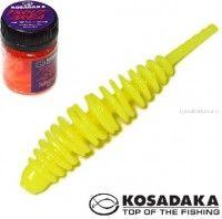 Мягкие приманки Kosadaka Leech 42 мм / упаковка 10 шт / Сыр / цвет: CH