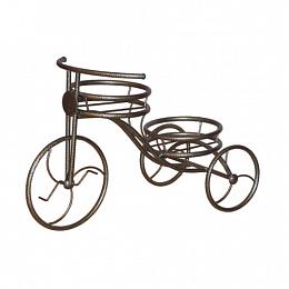 Подставка для цветов Велосипед на 2 горшка