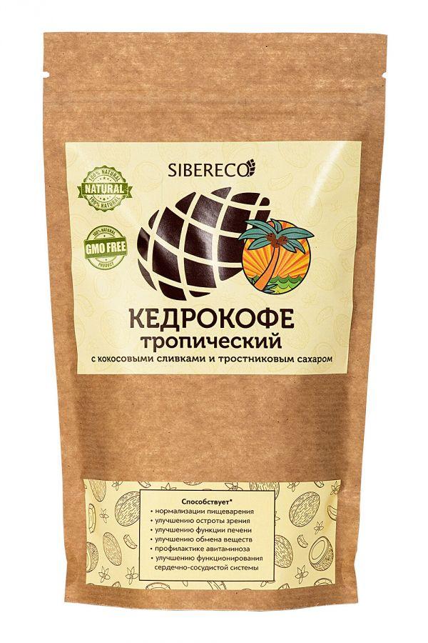 Кедрокофе Тропический с кокосовыми сливками и тростниковым сахаром 90г