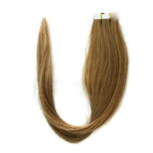 Натуральные волосы на липучках №016 (45 см)