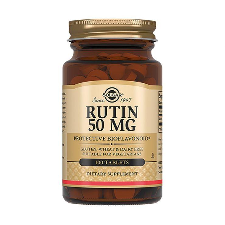 Солгар Rutin (Рутин) 50 мг, 100 табл.