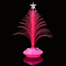 Светящаяся LED елочка, 32 см, Цвет: Розовый