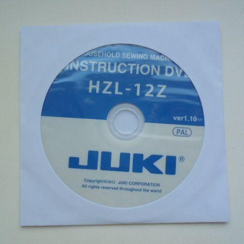 Диск с инструкцией по эксплуатации JUKI 12z     цена 300 руб.