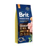 BRIT Premium by Nature Junior М Корм для молодых собак средних пород (15 кг)